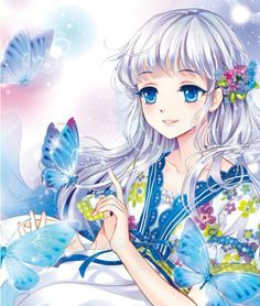 If Yoshimoto Imagawa saw this girl, what will he do? Pretty Anime Girl, Beautiful Anime Girl, Kawaii Anime Girl, I Love Anime, Anime Art Girl, Manga Girl, Anime Girls, Manga Anime, Fanarts Anime