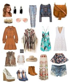 """Untitled #3"" by alexanderalechito-slepcik on Polyvore featuring Relaxfeel, Billabong, STELLA McCARTNEY, Chloé, Lulu*s, Calypso St. Barth, Zara, Dolce&Gabbana, Alex and Ani and Temperley London"