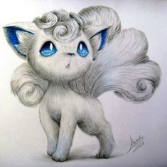 vulpix-alola-drawing-i-used-a-reference-pokemon-alolaform-nintendo-fanart-poke-ball/ - The world's most private search engine Eevee Pokemon, Pokemon Sketch, Pokemon Fan Art, Pokemon Sun, Pokemon Tattoo, Nintendo Pokemon, Cute Animal Drawings, Kawaii Drawings, Cute Drawings