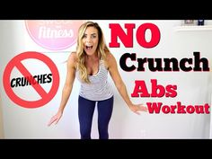 No Crunch Flat Abs Workout | Love Sweat Fitness - YouTube Complete 3/29/16 2 rounds