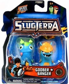 Slugterra Mini Figure 2-Pack Goober & Banger [Includes Code for Exclusive Game Items]