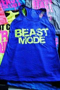 Workout  Burnout Tank  Beast Mode by GraphicsUnlimitedLLC on Etsy