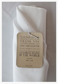 THIS IS THE WORDING FOR OUR THANK YOUS AT THE WEDDING Thank you the-wedding