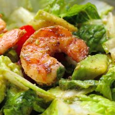 Healthy Meals 711779916079454169 - Shrimp and Avocado Taco Salad Source by malikkag Seafood Recipes, Paleo Recipes, Low Carb Recipes, Cooking Recipes, Cooking Tips, Advocare Recipes, Seafood Appetizers, Healthy Snacks, Healthy Eating