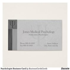 35 best psychologist psychiatrist business cards images on psychologist business card colourmoves