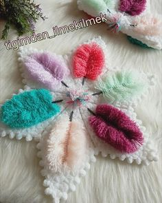 Flower Embroidery Designs, Crochet Clothes, Diy And Crafts, Places, Flowers