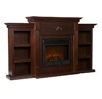 Emerson Electric Fireplace - Espresso... from Sam's club!!!!
