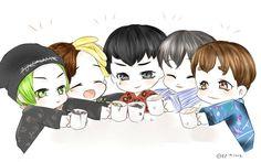 ameverything... — thekoreanbigbang:   BIGBANG FANART...