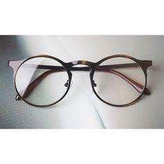 Vintage 1920s Trendy Oliver Retro Eyeglasses e9372 leopard frames kpop eyewear