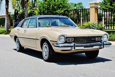 Absolutley mint just 7843 miles 1973 Ford Maverick 302 v-8 auto cold a/c sweet