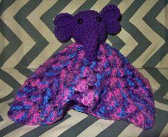 Elephany Lovey Blanket rattle by GypsySoulsCrafts on Etsy