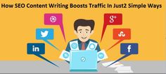 Just 2 simple steps or ways are quite sufficient these days in #SEOContentWriting, through which #organictraffic can be easily attracted - #contentmarketing #socialshare