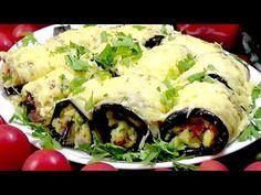 IL PIATTO DI MELANZANE PIÙ DELIZIOSO! NON FRIGGERAI MAI PIU' le melanzane! Ricetta melanzane - YouTube Eggplant Zucchini, Eggplant Recipes, Vegetable Chips, Vegetable Recipes, Carne, Potato Salad, Sushi, Stuffed Mushrooms, Brunch