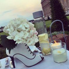 Boots by Manuela Gómez White dinner #reggiadivenaria #italy