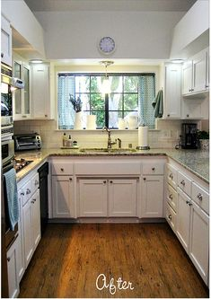 Good Ideas For You | Before & After 1980s Kitchen