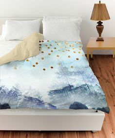 Summer Mist Collage Duvet Cover