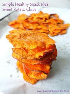 Simple Sweet-potato-chips