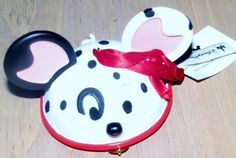 Any Disney fan would love this Limited Edition 101 Dalmatians Ornament.  Ear Hat Ornament features Dalmatian. He has a gold collar ornament.  Numbered 1628 of 6500  Comes with red ribbon for hanging.  New with tags  No box