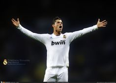 The Great Cristiano Ronaldo, or as he is widely known as, Ronaldo Real Madrid, Real Madrid 2011, Real Madrid Wallpapers, Cristiano Ronaldo Wallpapers, Good Soccer Players, Wallpaper Pictures, Funny Pictures, Pictures Images, Funny Pics