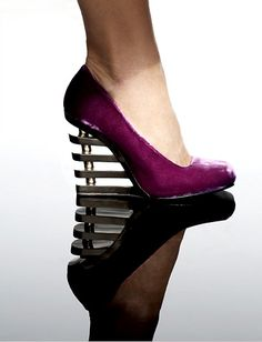 Your shoe collection is GREAT. I just wanted to add in one pair so that it didn't look like I forgot about feet. And you could pull off something like this pair if you wanted/had the occasion!
