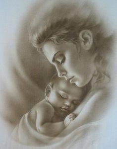 Mother Love by artist Marina Koloeridi