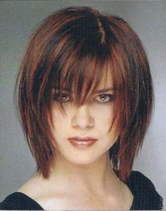 this hair cut is between a shag and a layered bob both popular in the 60's and today.......love it                            lindas cuts/tans
