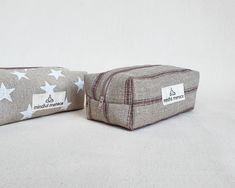Mindful Handmade Unique Pencil Case for back to school €19.90 plus free delivery Large Pencil Case, Eco Friendly Bags, Wash Bags, Makeup Case, Toiletry Bag, Star Print, Large Bags, Mindful, Travel Bag