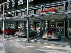 Parking system with platforms and lifts CLASSIC PARKER  Nussbaum