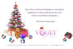 Que a Paz e a harmonia festejadas no natal estejam presentes em todos os dias do seu ano novo... Sintam-se acolhidos e abraçados ~ Feliz Natal e Boas Festas. www.voget.net.br ~ www.euqueroumbebe.com ~ www.minifivcampinas.com