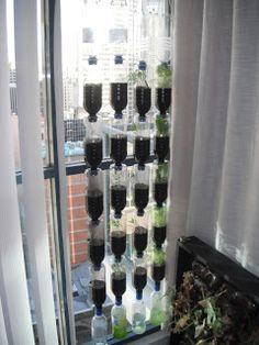 hortinha hidropônica vertical