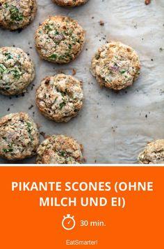 Pikante Scones (ohne Milch und Ei) - smarter - Zeit: 30 Min. | eatsmarter.de
