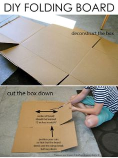 How to Make and Use Your Own Folding Board