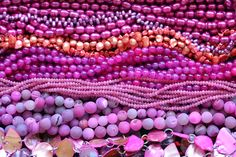 magenta, fuchsia & coral pearls in teardrop, rice, egg, keishi and biwa stick shapes!  pink candy jade, faceted agate round beads, irregular agate slab beads and hot pink mother of pearl beads!