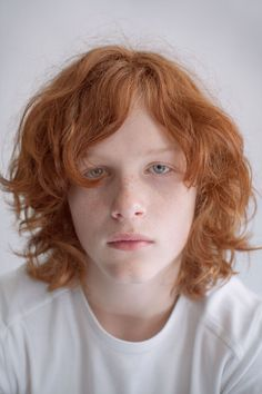 I created a project in order to change the common view about red haired people. They are quite often discriminated or bullied just because of their natural hair color and unusual features, such as freckles or pale skin.