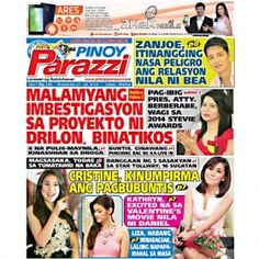 Pinoy Parazzi Vol 7 Issue 141 November 17 – 18, 2014 http://www.pinoyparazzi.com/pinoy-parazzi-vol-7-issue-141-november-17-18-2014/