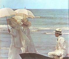 """Dirk Bogarde em cena de """"Morte em Veneza"""" (1971). Veja mais em: http://semioticas1.blogspot.com.br/2011/09/mahler-em-veneza.html"""