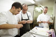 Chefs Mark Jordan and Pascal Proyart Team Up for a Taste of Jersey in London