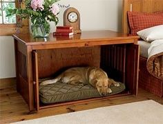 Bedside Dog Bed Table