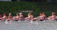 Badger lightweight women race against Stanford