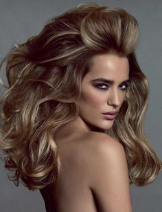 How to create Big Sexy Hair to go with this Night Out look #sdNightOut