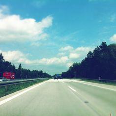 Autobahn   Brandenburg   Germany