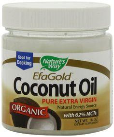 Amazon.com: Nature's Way Organic Extra Virgin Coconut Oil, 16 Ounce: Health & Personal Care