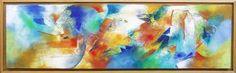 Original abstract acrylic painter by Eva Holz