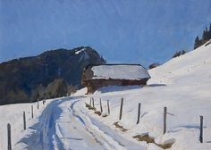Farm above Rougemont by Marc Dalessio was selected as a Finalist in the January 2012 RayMar Painting Competition.