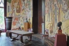 RUHLMANN - Le bureau de réception du Maréchal Lyautey - 1931 - Palais de la Porte Dorée (ART DECO)