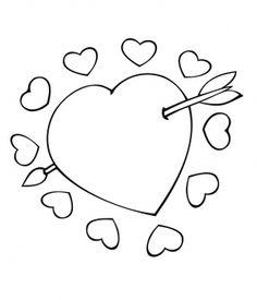 Cupid Arrow Through the Heart