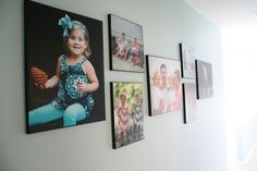 DIY Photo Canvases With the Secret to REAL Texture!