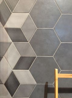 The Hex tiles, part of the CONCRET ROMA collection from Natucer