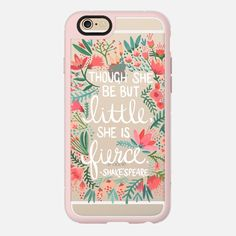 Little & Fierce – Transparent - New Standard Case