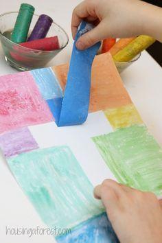 Easy Cross Craft for Kids  ~ Easter Craft #easycraftforkids